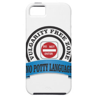 potty language do not enter iPhone SE/5/5s case