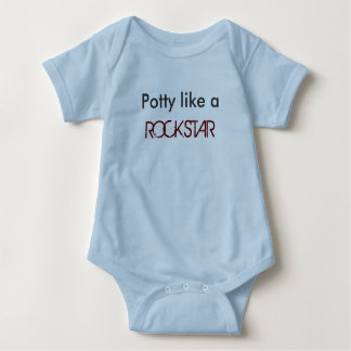 Potty like a ROCKSTAR Baby Bodysuit