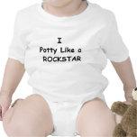 Potty Like a Rockstar Bodysuit