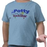 Potty Like a Rockstar Tee Shirts