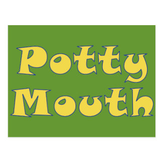 Potty Mouth Postcard