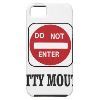 potty mouths do not enter iPhone SE/5/5s case