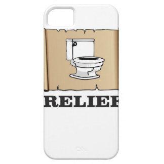 potty relief fun iPhone SE/5/5s case