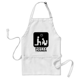 Potty Tainer Apron - Light