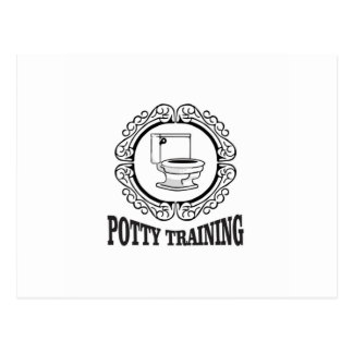 potty training reminder postcard