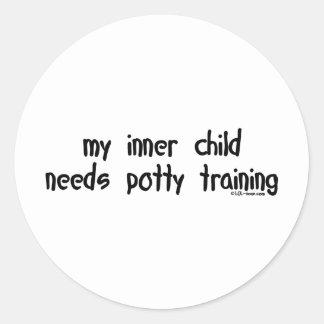 Potty Training Sticker