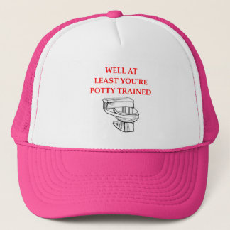 POTTY TRUCKER HAT
