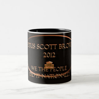 POTUS Scott Brown 2012 Coffee Mugs