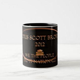 POTUS Scott Brown 2012 Two-Tone Coffee Mug