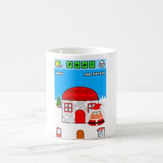 Pou_Christmas Coffee Mug