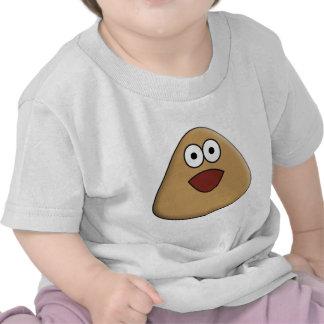 Pou emocionado camiseta