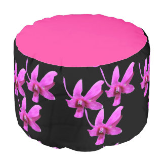 Pouf Seat - Cooktown Orchid