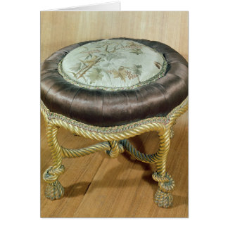 Pouffe, Second Empire Style Card