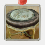 Pouffe, Second Empire Style Christmas Ornament