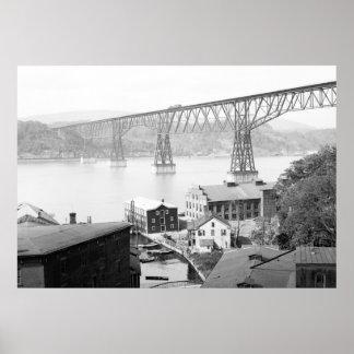 Poughkeepsie Bridge, 1904 Print