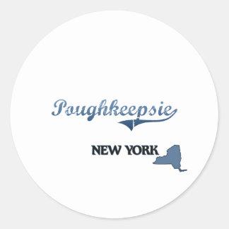 Poughkeepsie New York City Classic Sticker