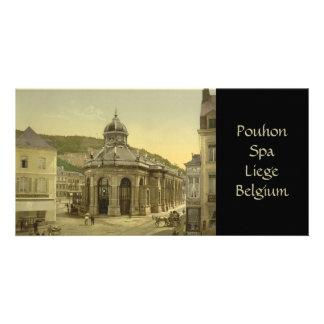Pouhon, balneario, Lieja, Bélgica Tarjetas Fotograficas