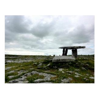Poulnabrone Dolmen Postcard