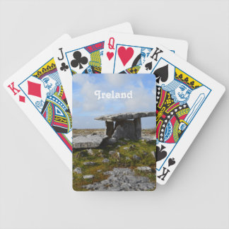 Poulnabrone Portal Tomb Bicycle Card Deck