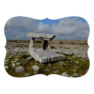 Poulnabrone Tomb Card