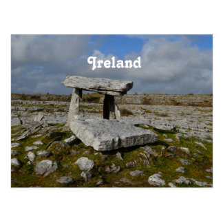 Poulnabrone Tomb Postcard