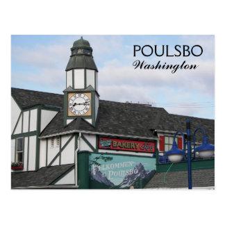 Poulsbo, Washington Travel Photo Postcard