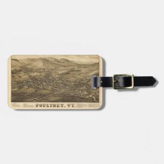 Poultney Vermont (1886) Bag Tag