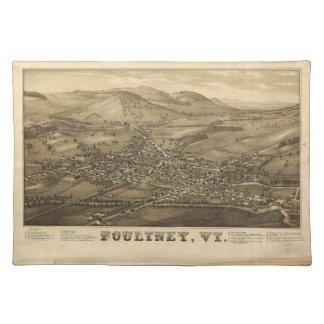 Poultney Vermont (1886) Placemat