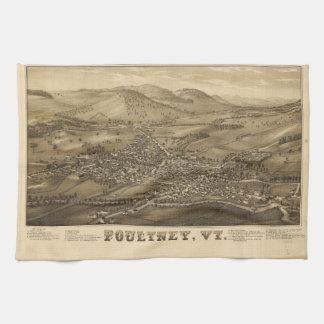 Poultney Vermont (1886) Towel