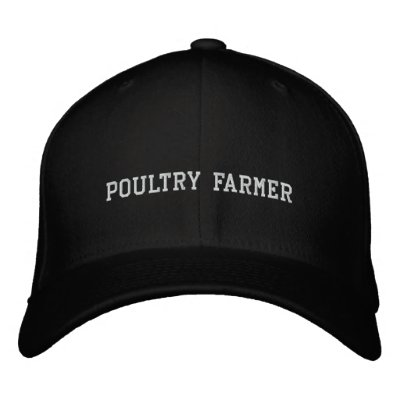 Poultry Farmer Embroidered Hats