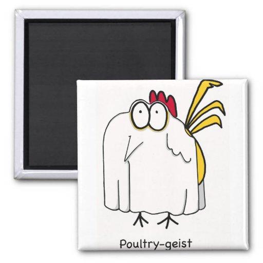Poultry-geist Fridge Magnet