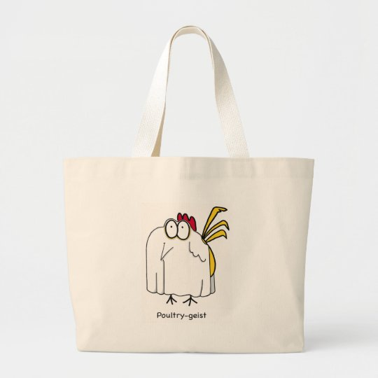 Poultry-geist Large Tote Bag