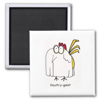 Poultry-geist Magnets