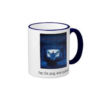poultry-geist ringer coffee mug