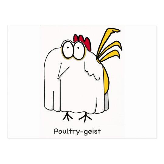 Poultry-geist Postcard