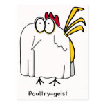 Poultry-geist Postcards
