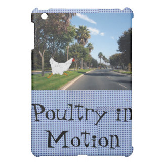 Poultry in Motion iPad Mini Cases