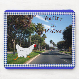 Poultry in Motion Mouse Pad