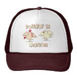 Poultry in Motion Trucker Hats