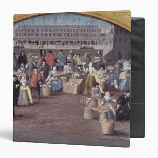 Poultry Market at Quai des Grands Augustins Vinyl Binders