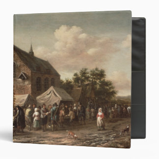 Poultry Market by a Church Vinyl Binder