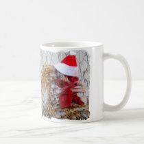 Poultry Mug - Santa Rooster
