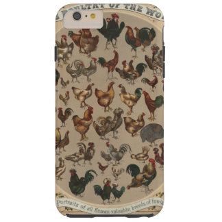 Poultry of the World (1868) Tough iPhone 6 Plus Case