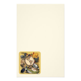Poultry of the World Stationery Design