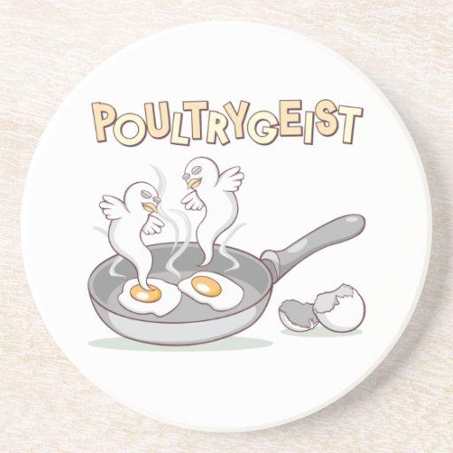 Poultrygeist Beverage Coasters