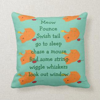 Pounce little kitty Pillow