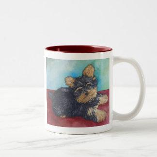 Pounce Two-Tone Coffee Mug