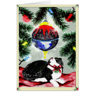 Pounce's First Christmas Card