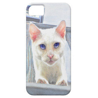 pouncing cat phone case iPhone 5 covers