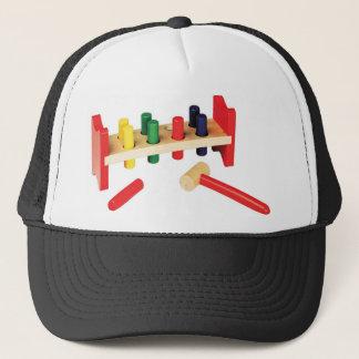 Pound a Peg Toy Decor Items Trucker Hat